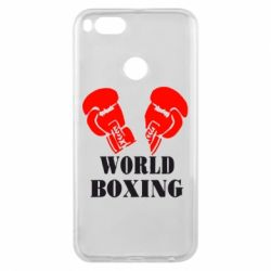 Чехол для Xiaomi Mi A1 World Boxing - FatLine