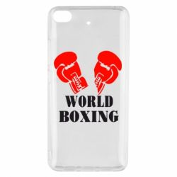 Чехол для Xiaomi Mi 5s World Boxing - FatLine