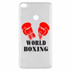 Чехол для Xiaomi Mi Max 2 World Boxing - FatLine