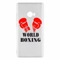 Чехол для Xiaomi Mi Note 2 World Boxing - FatLine