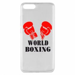 Чехол для Xiaomi Mi Note 3 World Boxing - FatLine