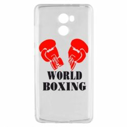 Чехол для Xiaomi Redmi 4 World Boxing - FatLine