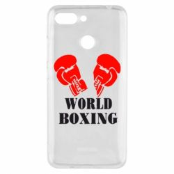 Чехол для Xiaomi Redmi 6 World Boxing - FatLine
