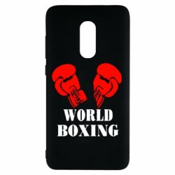 Чехол для Xiaomi Redmi Note 4 World Boxing - FatLine