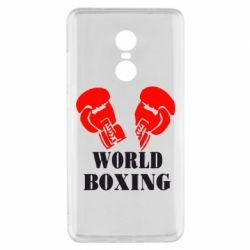 Чехол для Xiaomi Redmi Note 4x World Boxing - FatLine