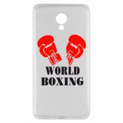 Чехол для Meizu M5 Note World Boxing - FatLine