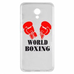 Чехол для Meizu M6s World Boxing - FatLine