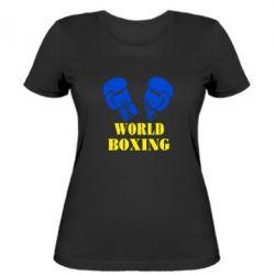 Женская футболка World Boxing - FatLine