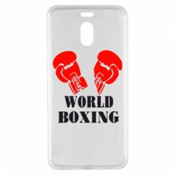 Чехол для Meizu M6 Note World Boxing - FatLine