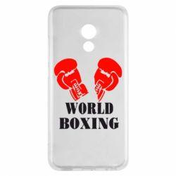 Чехол для Meizu Pro 6 World Boxing - FatLine