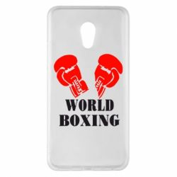 Чехол для Meizu Pro 6 Plus World Boxing - FatLine