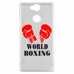 Чехол для Sony Xperia XA2 World Boxing - FatLine