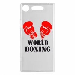Чехол для Sony Xperia XZ1 World Boxing - FatLine
