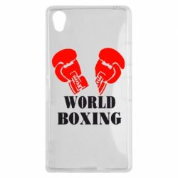 Чехол для Sony Xperia Z1 World Boxing - FatLine