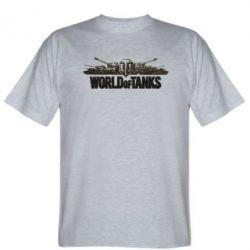 Мужская футболка World Of Tanks 3D Logo - FatLine
