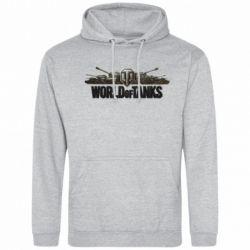 Мужская толстовка World Of Tanks 3D Logo - FatLine