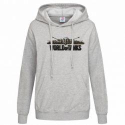Женская толстовка World Of Tanks 3D Logo - FatLine