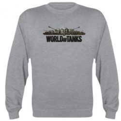 Реглан (свитшот) World Of Tanks 3D Logo - FatLine