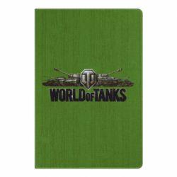 Блокнот А5 World Of Tanks 3D Logo