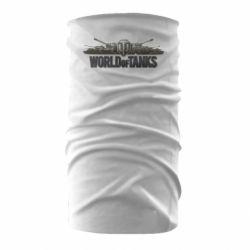 Бандана-труба World Of Tanks 3D Logo