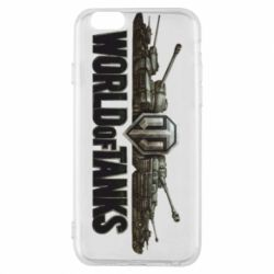 Чехол для iPhone 6/6S World Of Tanks 3D Logo