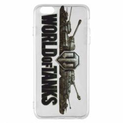 Чехол для iPhone 6 Plus/6S Plus World Of Tanks 3D Logo