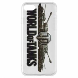 Чехол для iPhone 7 World Of Tanks 3D Logo