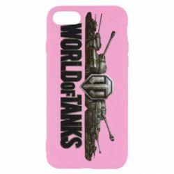 Чехол для iPhone 8 World Of Tanks 3D Logo