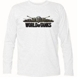 Футболка с длинным рукавом World Of Tanks 3D Logo - FatLine