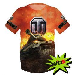 Детские футболки World Of Tanks (Ворлд оф танкс) - купить в Киеве ... ba5ee1ce9f6