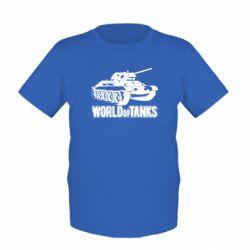 Детская футболка World Of Tanks Game - FatLine