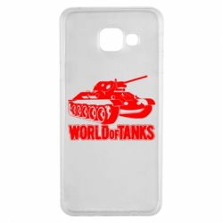 Чохол для Samsung A3 2016 World Of Tanks Game