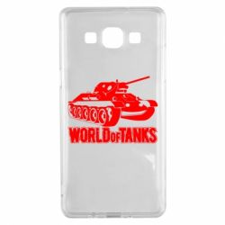 Чехол для Samsung A5 2015 World Of Tanks Game