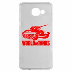 Чохол для Samsung A5 2016 World Of Tanks Game