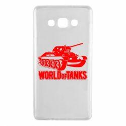 Чохол для Samsung A7 2015 World Of Tanks Game