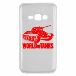 Чехол для Samsung J1 2016 World Of Tanks Game