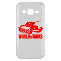 Чехол для Samsung J2 2015 World Of Tanks Game