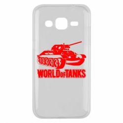 Чохол для Samsung J2 2015 World Of Tanks Game