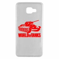 Чохол для Samsung A7 2016 World Of Tanks Game