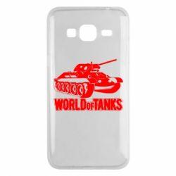 Чохол для Samsung J3 2016 World Of Tanks Game