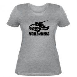 Женская футболка World Of Tanks Game - FatLine