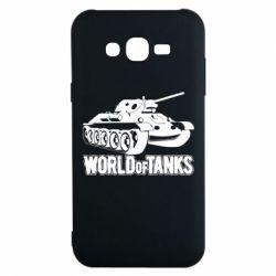 Чохол для Samsung J7 2015 World Of Tanks Game