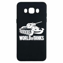Чохол для Samsung J7 2016 World Of Tanks Game