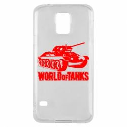 Чехол для Samsung S5 World Of Tanks Game