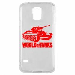 Чохол для Samsung S5 World Of Tanks Game