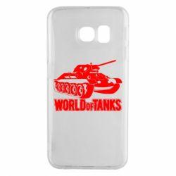 Чохол для Samsung S6 EDGE World Of Tanks Game