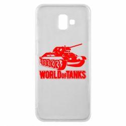 Чохол для Samsung J6 Plus 2018 World Of Tanks Game