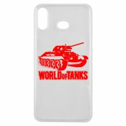 Чехол для Samsung A6s World Of Tanks Game