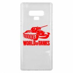 Чохол для Samsung Note 9 World Of Tanks Game