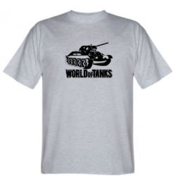 Мужская футболка World Of Tanks Game - FatLine